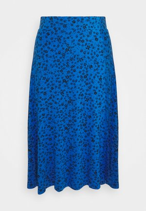 DITSY SKATER SKIRT - Gonna a campana - blue