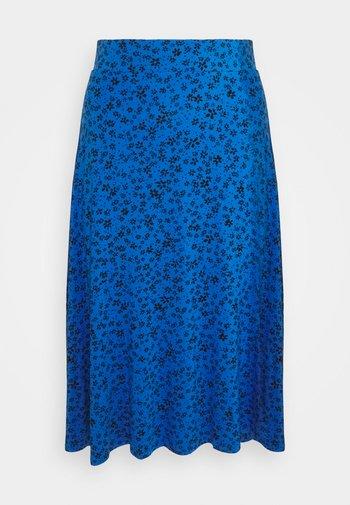 DITSY SKATER SKIRT - Áčková sukně - blue