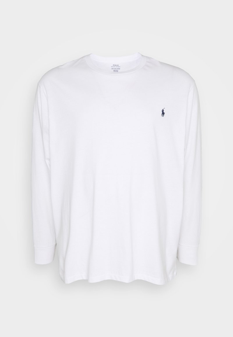 Polo Ralph Lauren Big & Tall - Maglietta a manica lunga - white