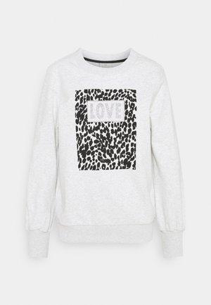 LEOAR - Sweatshirt - light grey melange