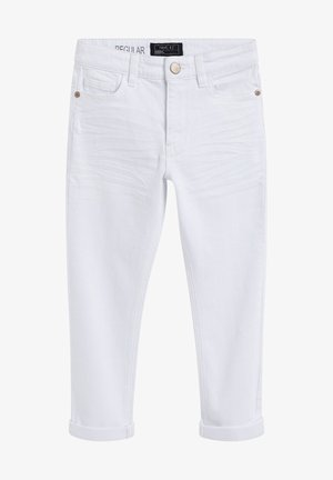 Jeans a sigaretta - white denim