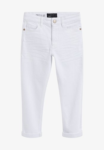 Jeans Straight Leg - white denim