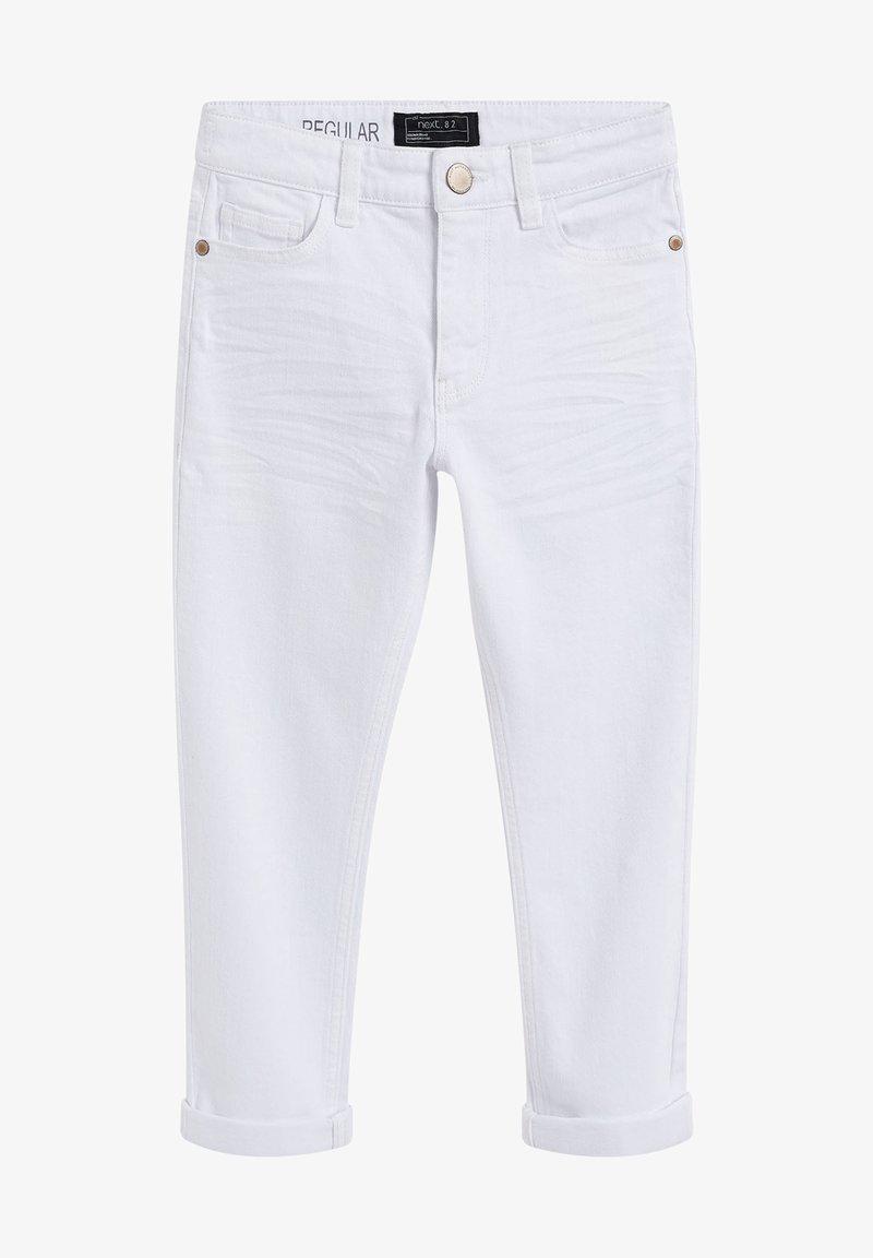 Next - Straight leg jeans - white denim