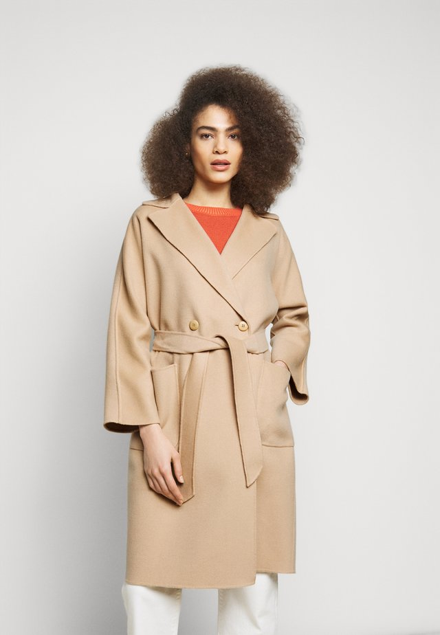 SELZ - Wollmantel/klassischer Mantel - kamel