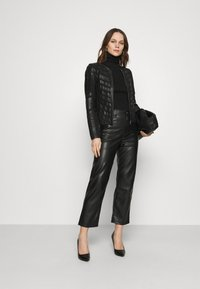Gipsy - SURI LELEV - Leather jacket - black - 1