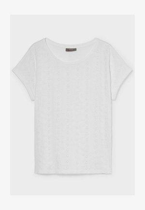 Basic T-shirt - white / white