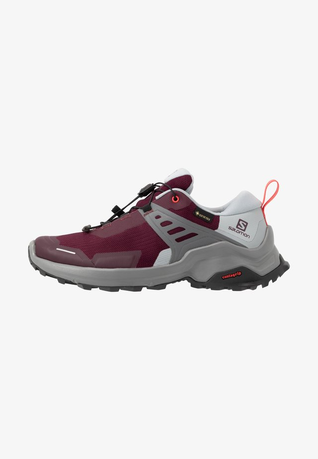 X RAISE GTX - Outdoorschoenen - wine tasting/quarry/cayenne