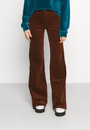 MODERN DOJO - Trousers - brown
