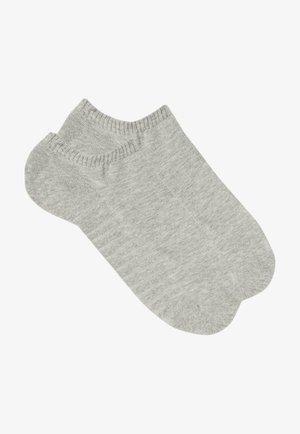 2PACK - Trainer socks - grau