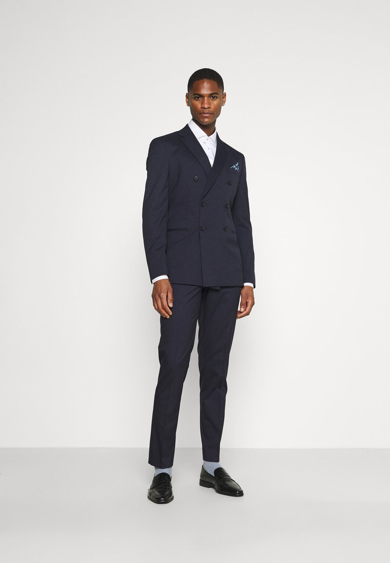 Selected Homme - SLHSLIM MAZELOGAN SUIT - Traje - navy