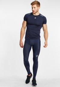 Skins - SKINS - Leggings - navy blue - 1
