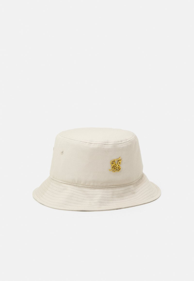 SIKSILK - BUCKET HAT UNISEX - Hat - stone/gold