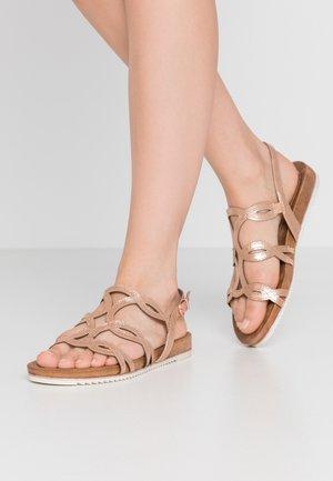 Sandales - copper