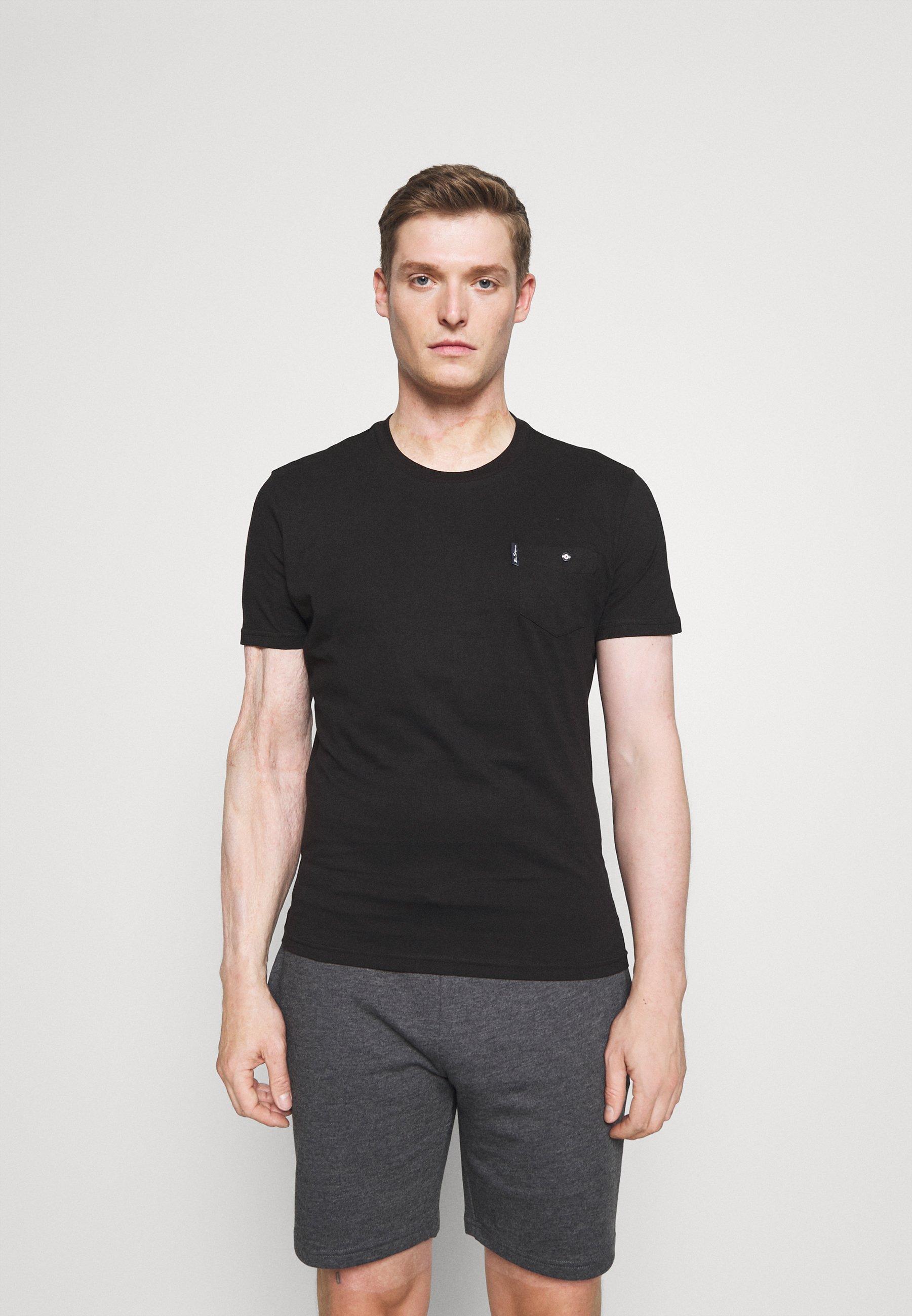 Herrer SIGNATURE POCKET TEE - T-shirts basic