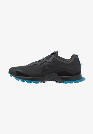 ALL TERRAIN CRAZE - Trail running shoes - cold grey/black/cyan