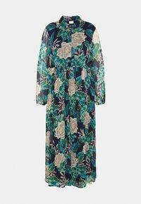 VILA CURVE - VIERICA ANKLE DRESS - Maxi dress - blue - 4