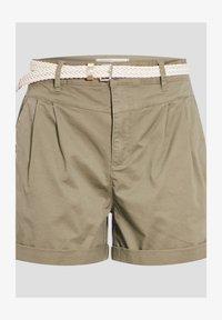 Cache Cache - MIT GÜRTEL - Shorts - vert kaki - 0