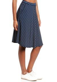 Vive Maria - A-line skirt - blau allover - 3