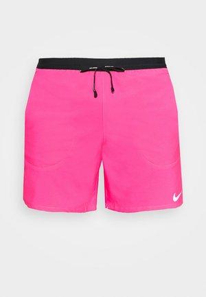 FLEX STRIDE SHORT - Sportovní kraťasy - hyper pink/silver