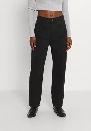 Relaxed fit jeans - black