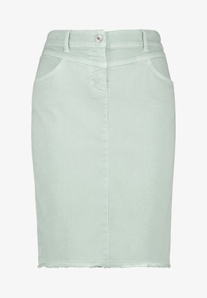 Pencil skirt - aqua grey