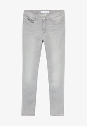 SKINNY ANKLE - Jeans Skinny Fit - grey denim