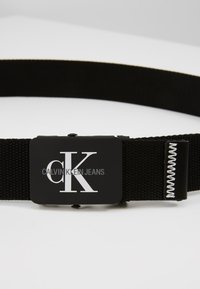Calvin Klein Jeans - MONOGRAM BELT - Pasek - black - 2