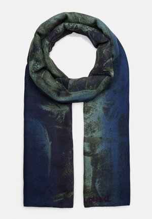 FOUL SUNSET - Scarf - blue