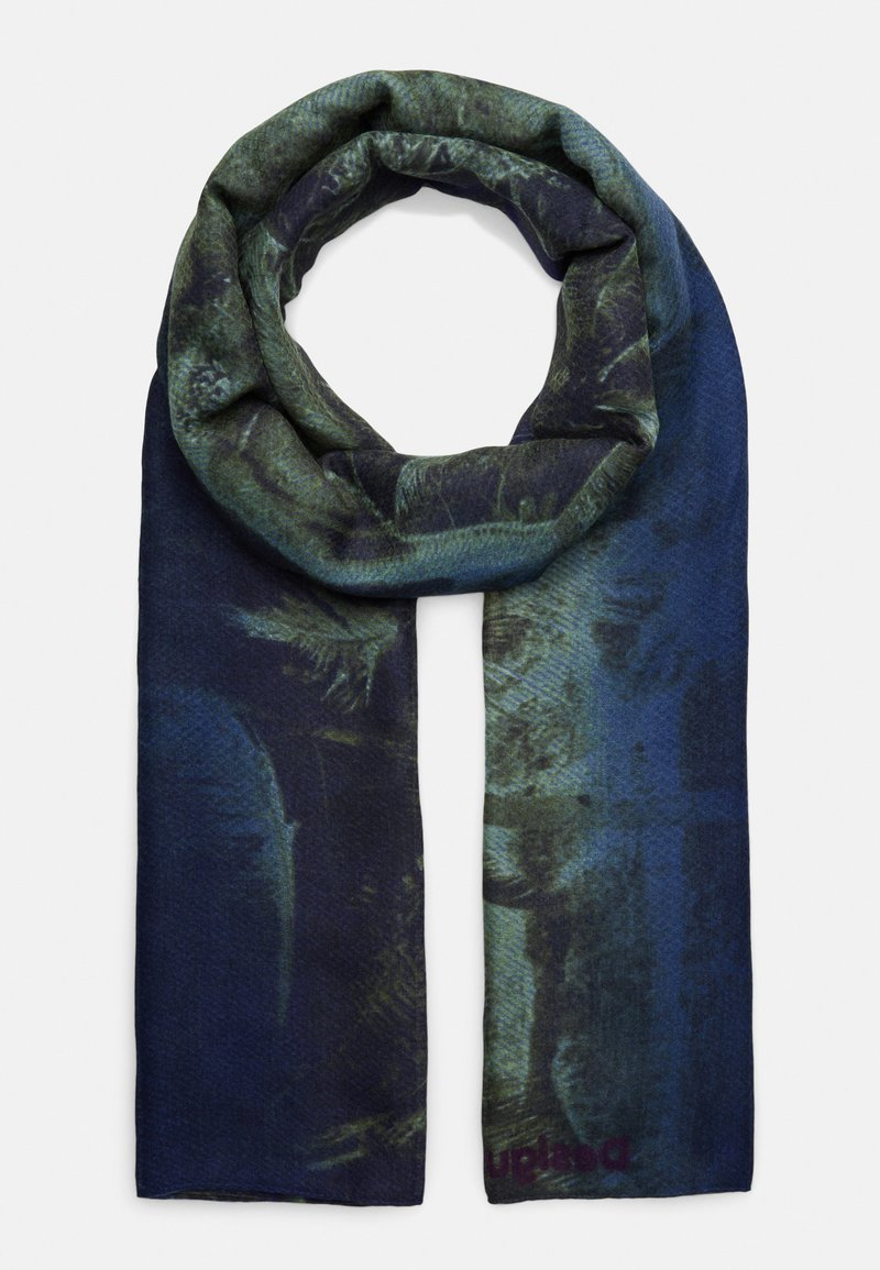 Desigual - FOUL SUNSET - Scarf - blue
