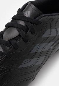 adidas Performance - COPA SENSE.4 FXG - Moulded stud football boots - core black/grey six - 5