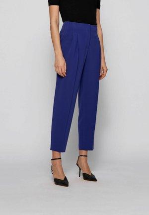 TAPIA - Trousers - dark purple