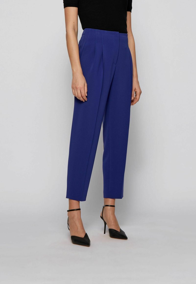 BOSS - TAPIA - Pantaloni - dark purple