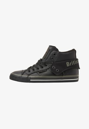 ROCO - Sneaker low - black/khaki/black
