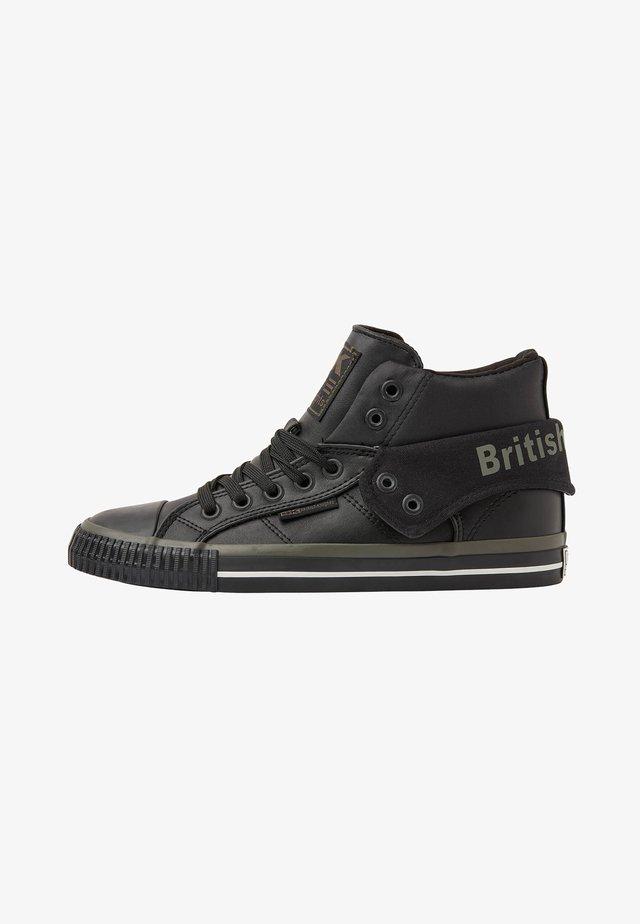 ROCO - Sneakers laag - black/khaki/black
