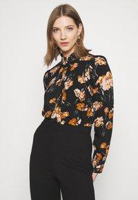 ONLY - ONLCLORIS - Button-down blouse - black - 2