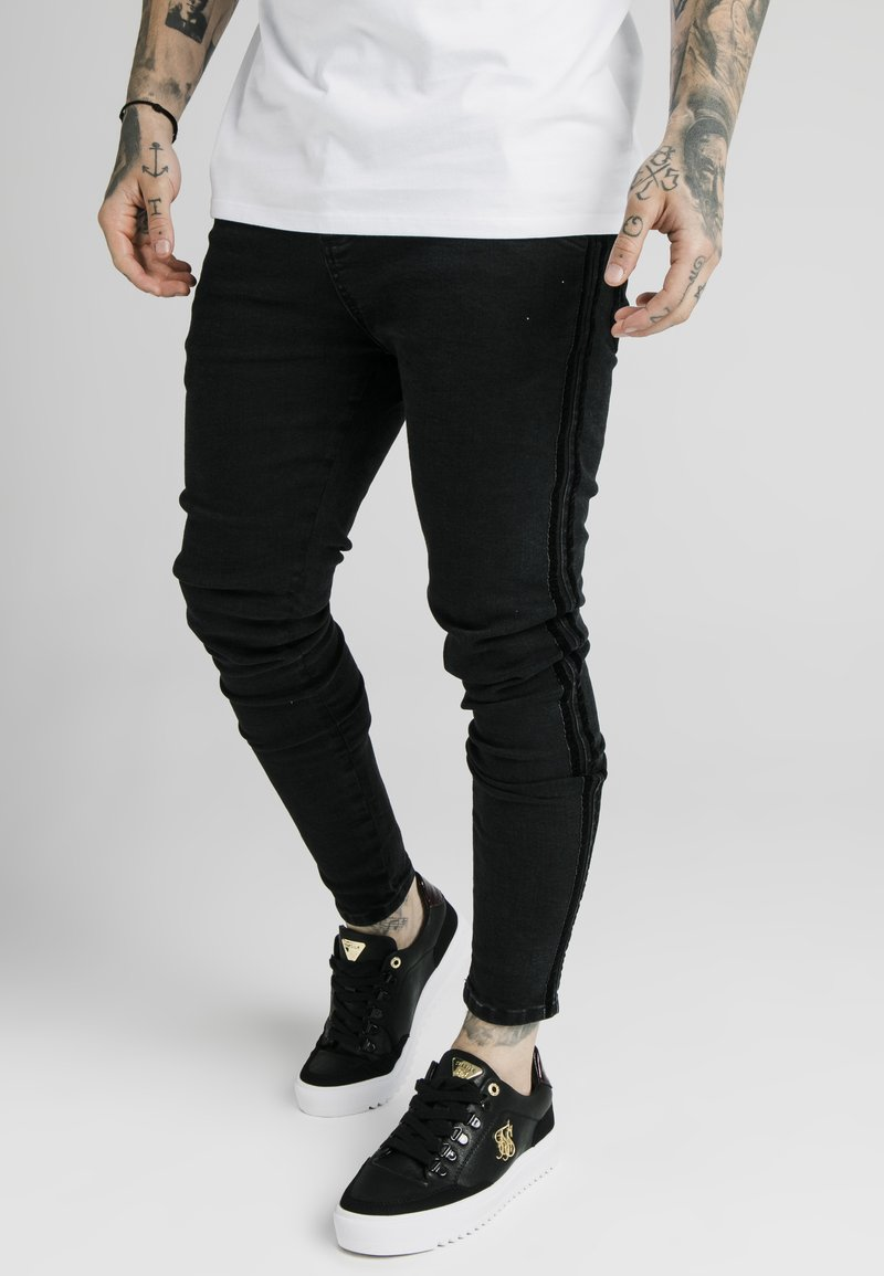 SIKSILK - Slim fit jeans - black