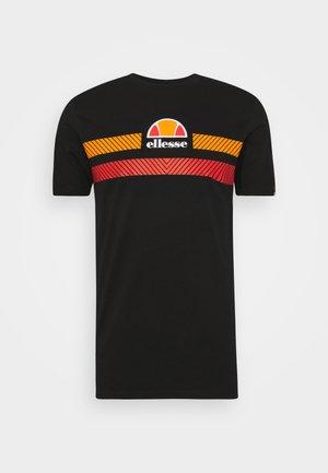 GLISENTA - T-shirt print - black