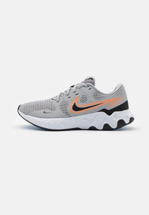 RENEW RIDE 2 - Neutral running shoes - light smoke grey/black/total orange/coast/white