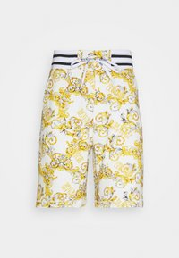 PRINT NEW LOGO - Teplákové kalhoty - bianco ottico