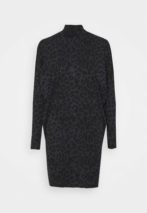 PONTE BATWING DRESS - Robe pull - black