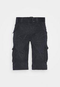 Schott - Cargo trousers - navy - 4