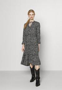 Vero Moda - VMFELICITY 7/8 CALF DRESS  - Day dress - black - 0