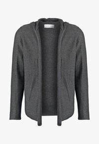 Pier One - Chaqueta de punto - mottled dark grey - 4