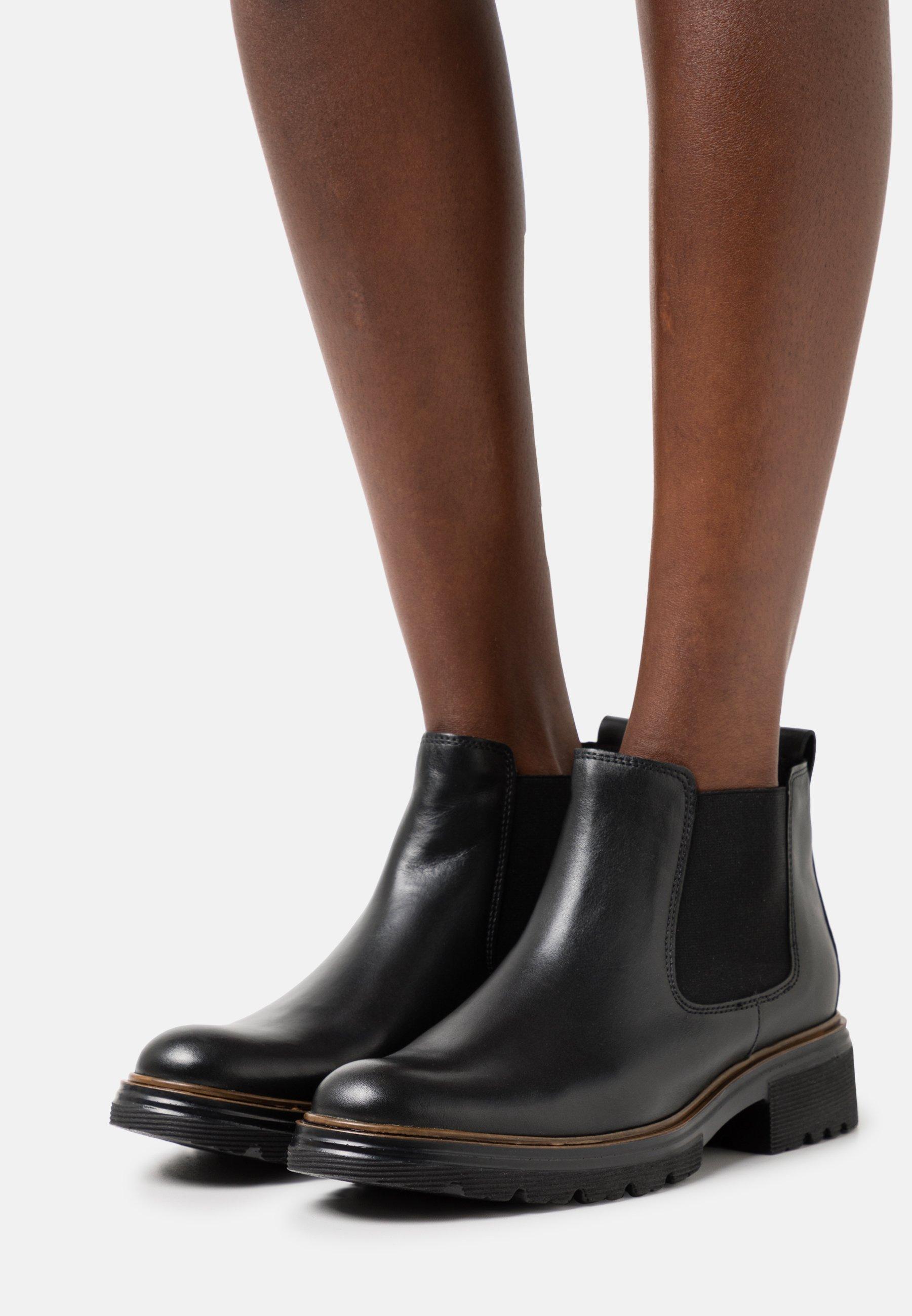 Women Ankle boots - schwarz