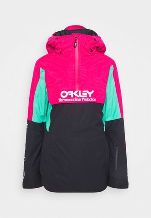 WOMENS INSULATED - Giacca da snowboard - black/rubine
