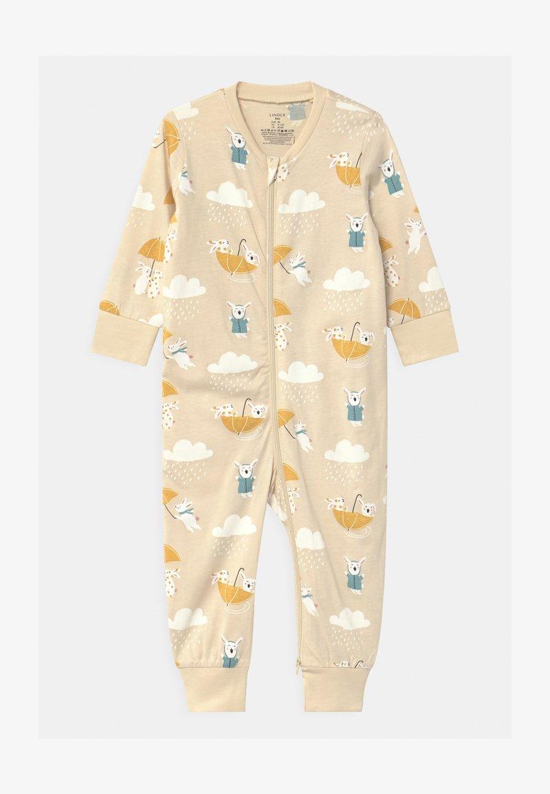 Lindex - RABBIT STORY UNISEX - Pyjamas - light beige