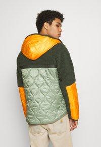 Nike Sportswear - WINTER - Winter jacket - vintage green/spiral sage/kumquat - 2