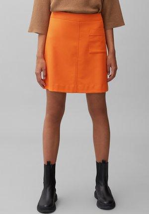 EASY SHAPE - A-line skirt - pumpkin orange