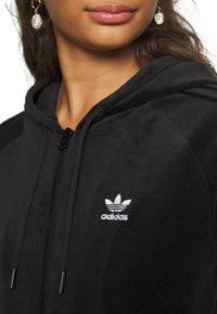 adidas Originals - CROP HOOD - Hettejakke - black - 6