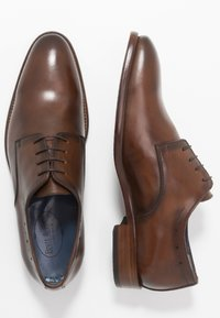 Brett & Sons - Smart lace-ups - natur cognac - 1